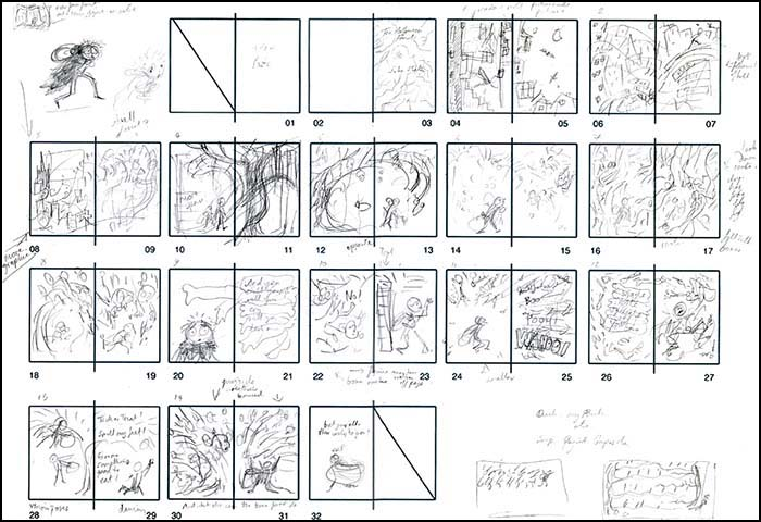 childrens book storyboard example