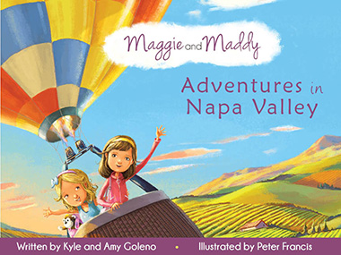 Maggie and Maddy: Adventures in Napa Valley - Book Cover