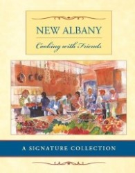 New Albany Cooking with Friends Book Cover