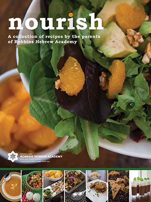 Client Testimonial for Nourish: A Collection of Recipes by the Parents of Robbins Hebrew Academy